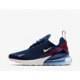 nike air max marineblauw