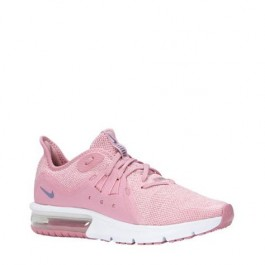 nike air max sequent grijs roze